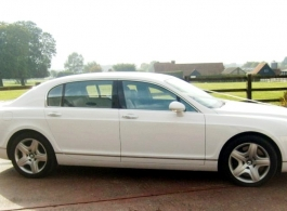 Bentley Flying Spur for weddings in High Wycombe